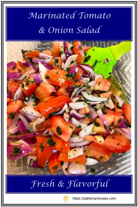Marinated Tomato and Onion Salad