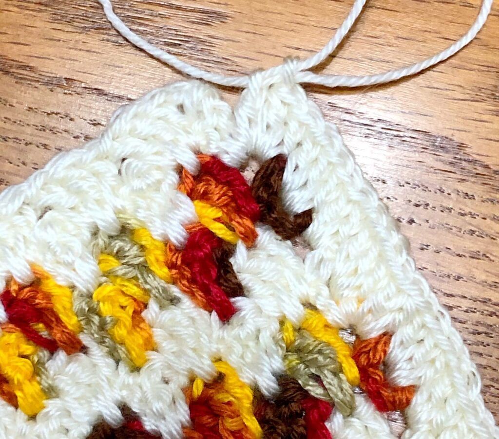 Join With a Slip Stitch to the Top of the Beginning Double Crochet