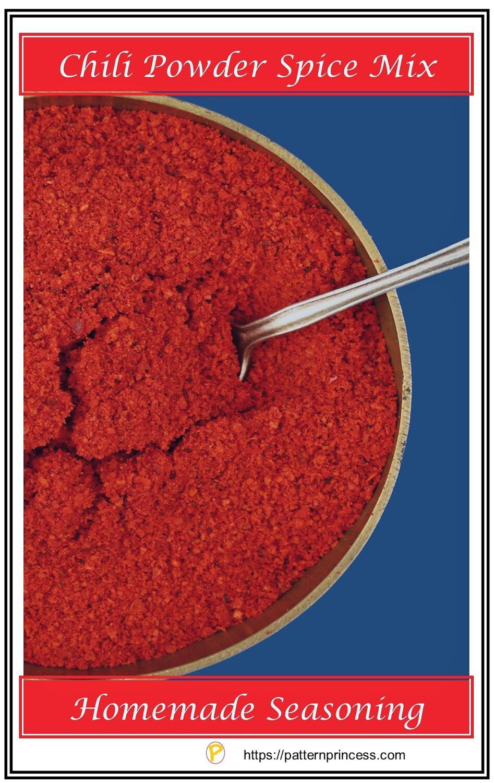 Chili Powder Spice Mix