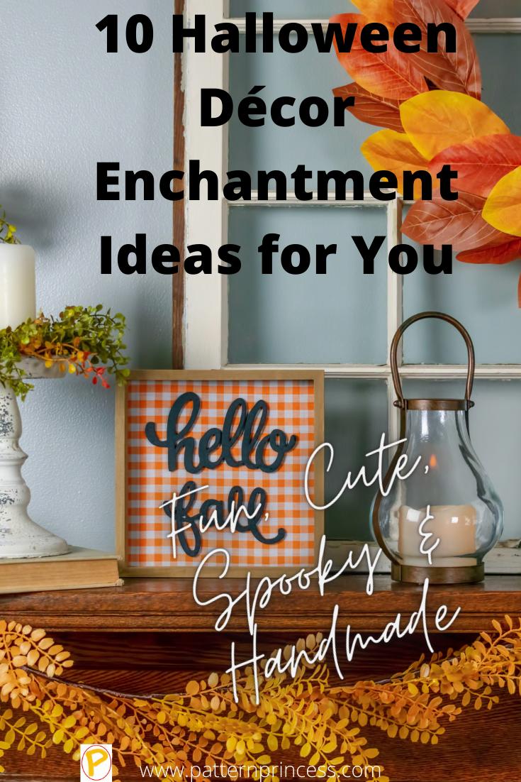 10 Halloween Décor Enchantment Ideas for You