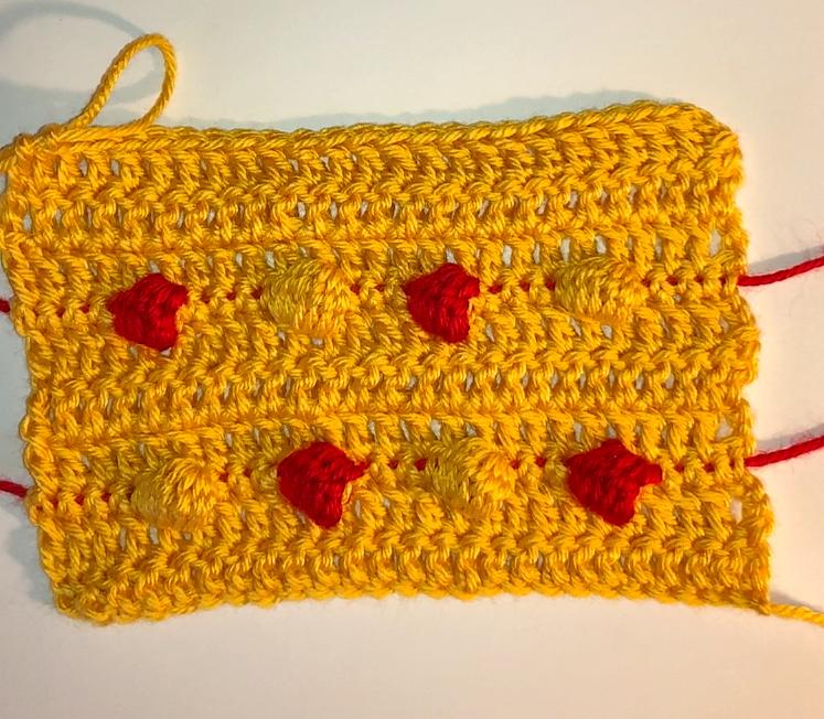 Crochet Bobble Stitch Tutorial