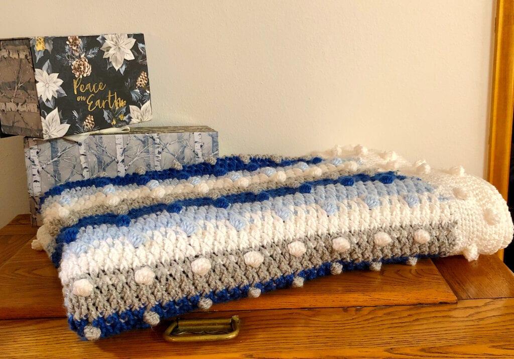 Handmade Christmas Blanket