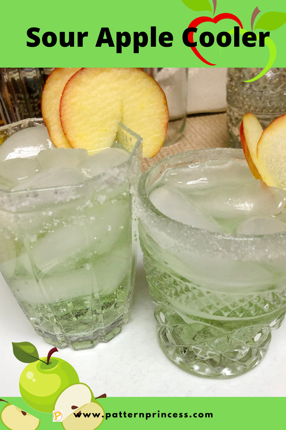 Sour Apple Cooler