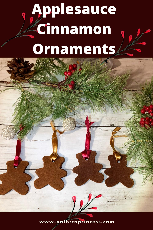 Applesauce Cinnamon Ornaments