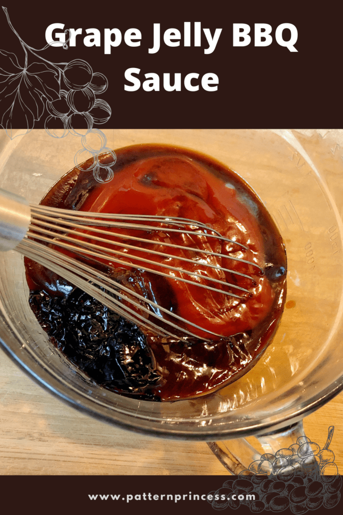 Grape Jelly BBQ Sauce