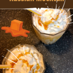 Salted Caramel White Russian Mocktail