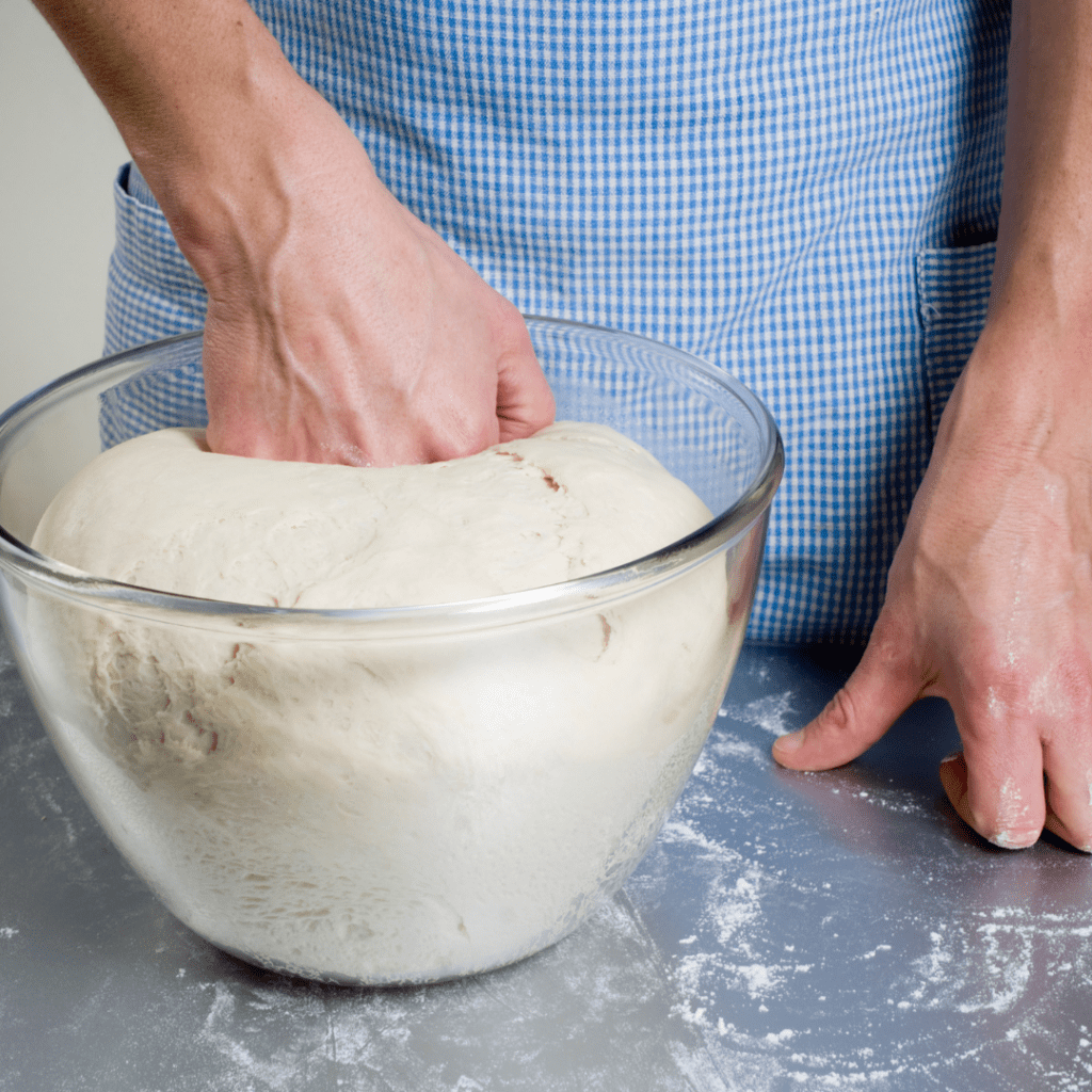Punching Down the Dough