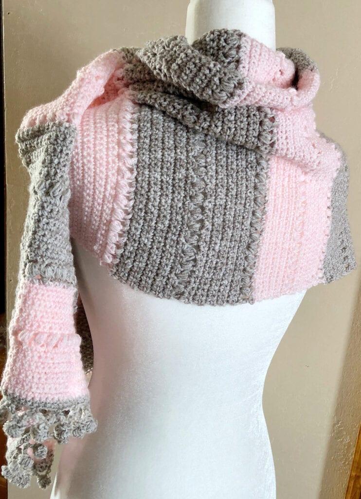 Elegant Crochet Scarf