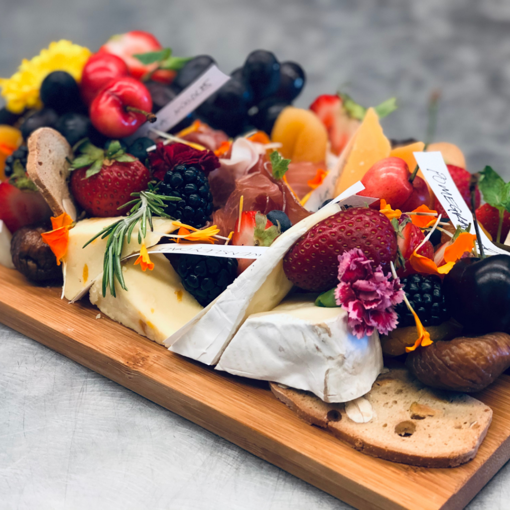 Fruit and Cheese Charcuterie