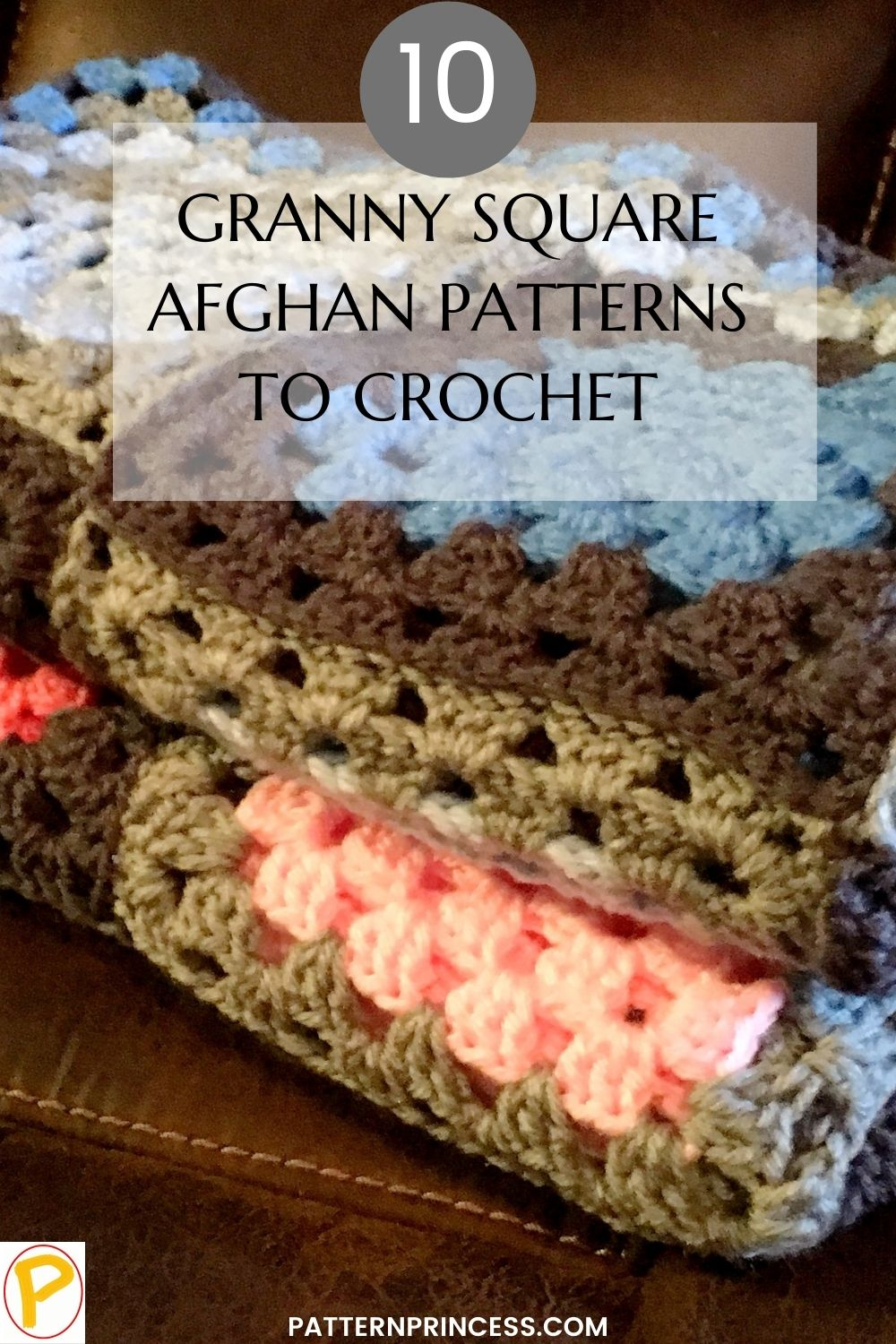 10 Granny Square Afghan Patterns to Crochet