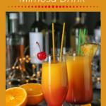 Amaretto Sunrise Mimosa Drink