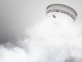 smoke sensor IdealWaves Smart home and it solutions company in cairo egypt http://idealwaves.com