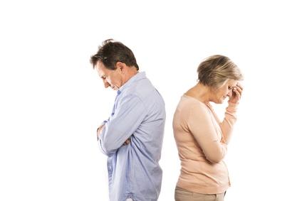 Couple Facing Divorce