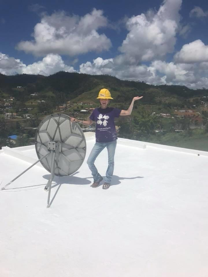 Tiffany Mosher All Hands and Hearts- Hurricane Maria Disaster Response