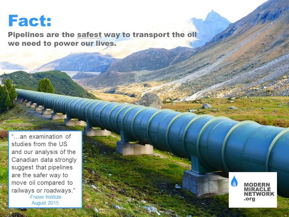 Pipeline Safety (Fraser Institute findings)