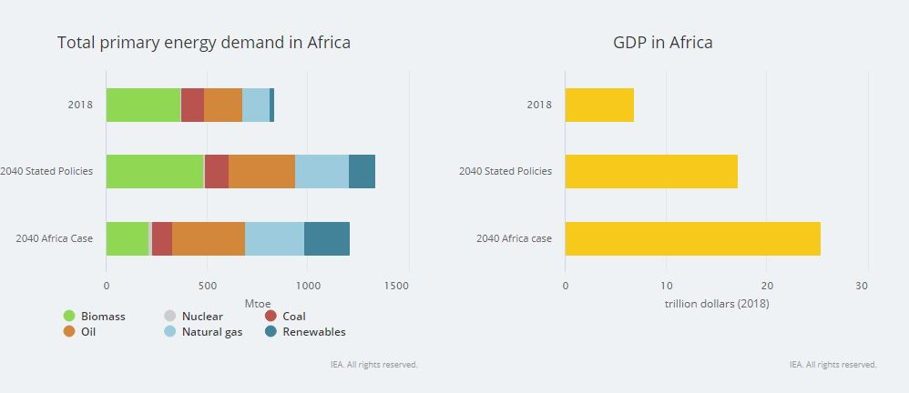 Total Primary Energy Africa