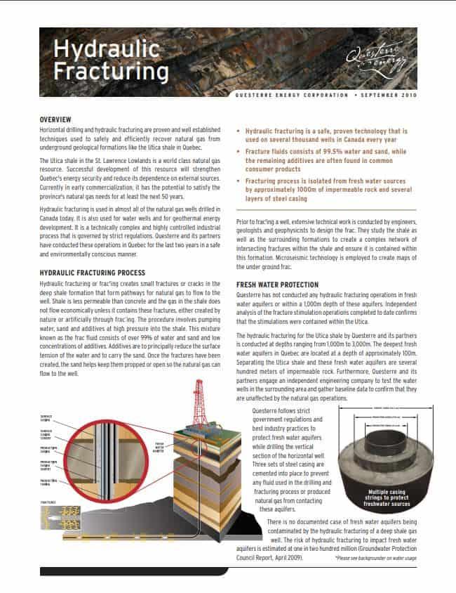 Fracking Info
