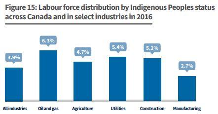 labour distribution indigenous