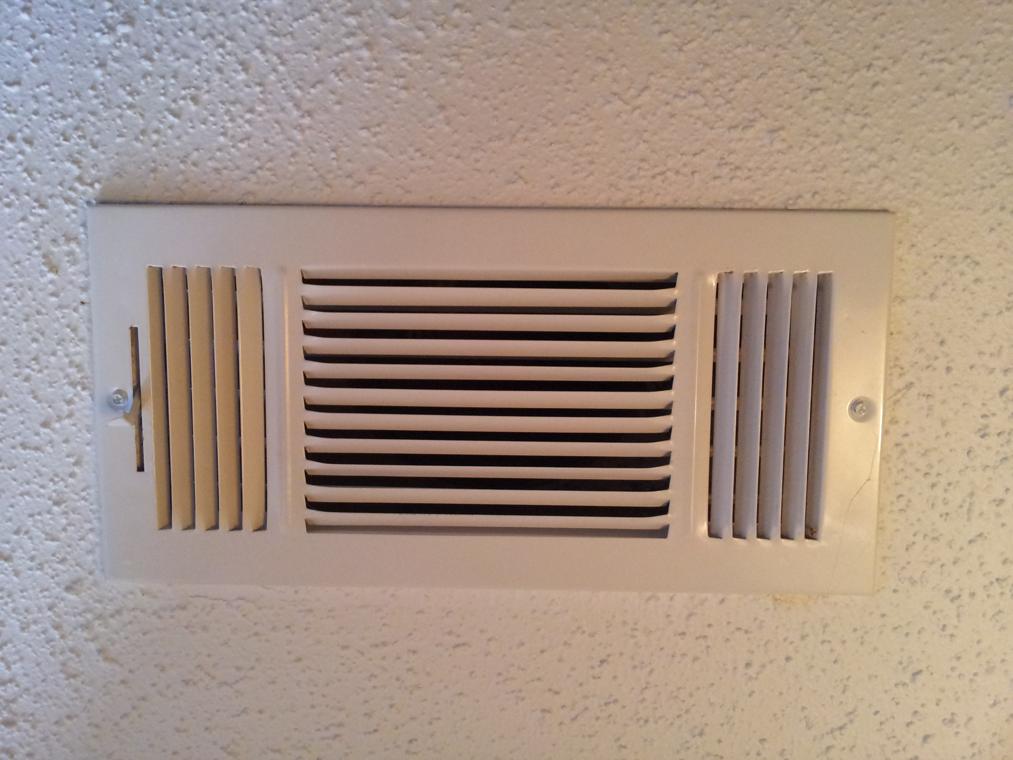 Supply Air Grille Adjustment