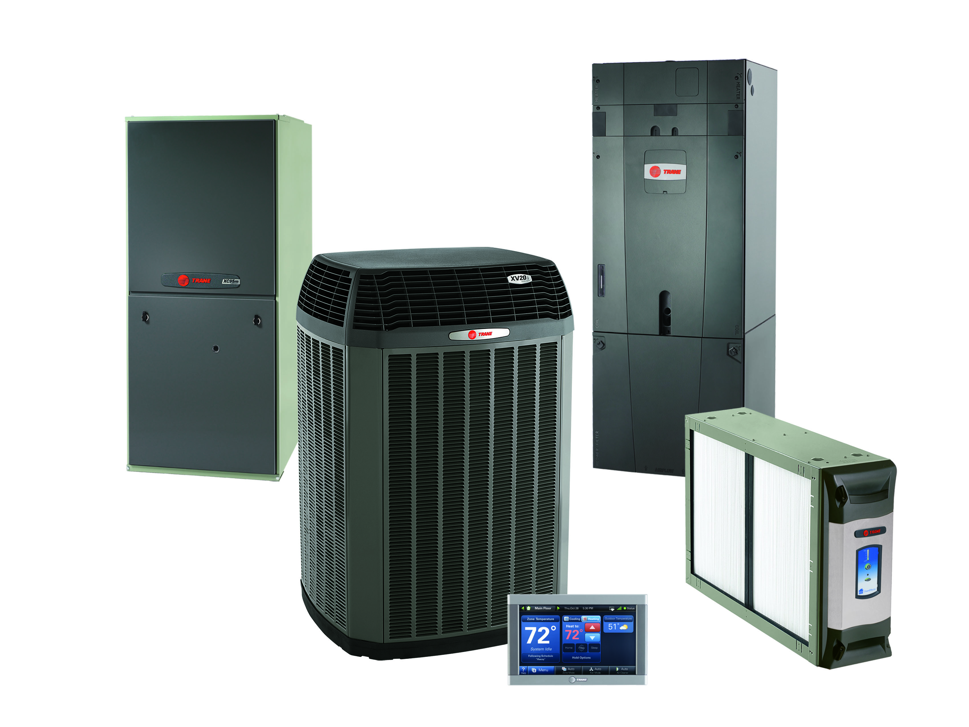 Trane XV20i Air Conditioning and Heating Systems