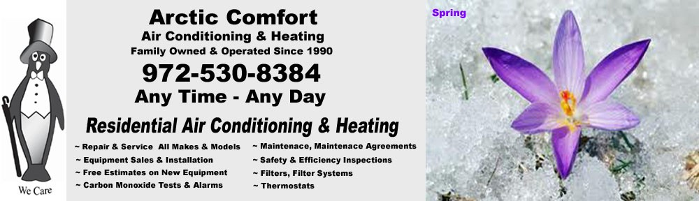 Arctic Comfort Air Conditioning and Heating - Garland, TX