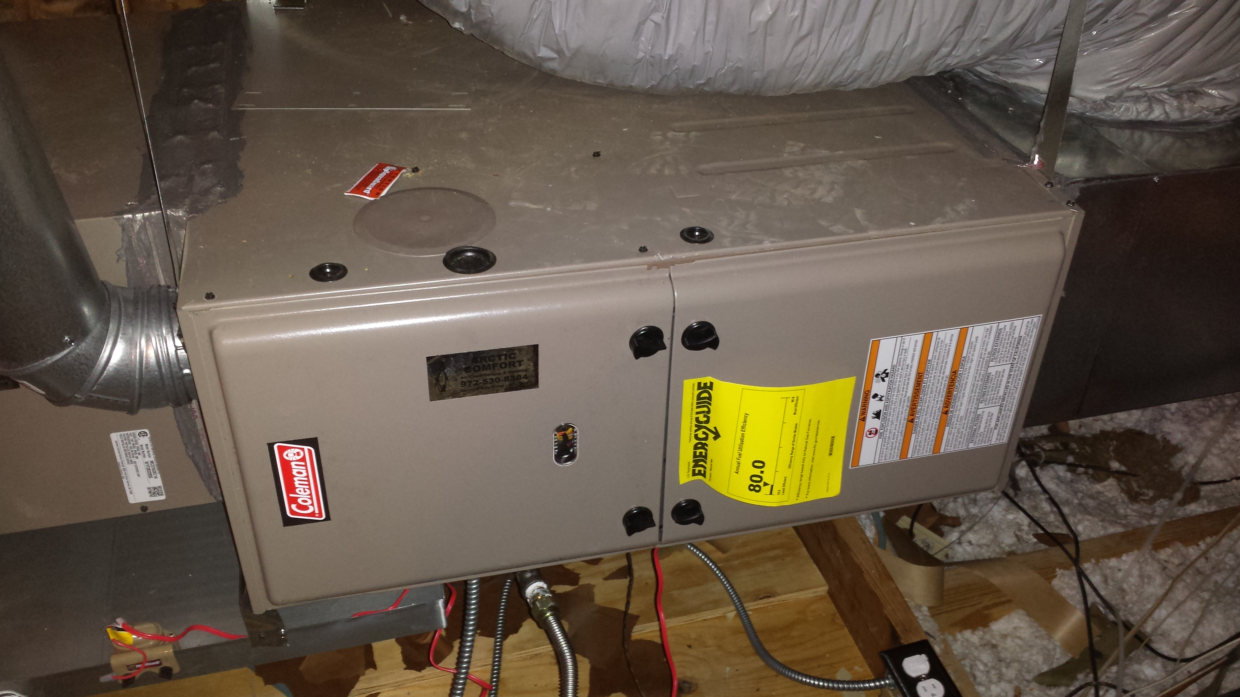 Coleman Gas Furnace