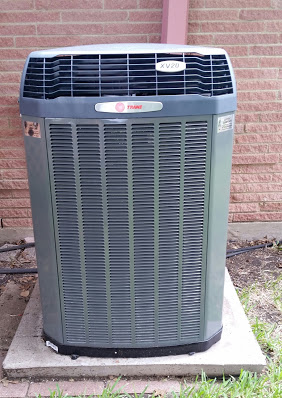 Trane XV20I ComfortLink II Communicating Condenser with Variable Speed Compressor.