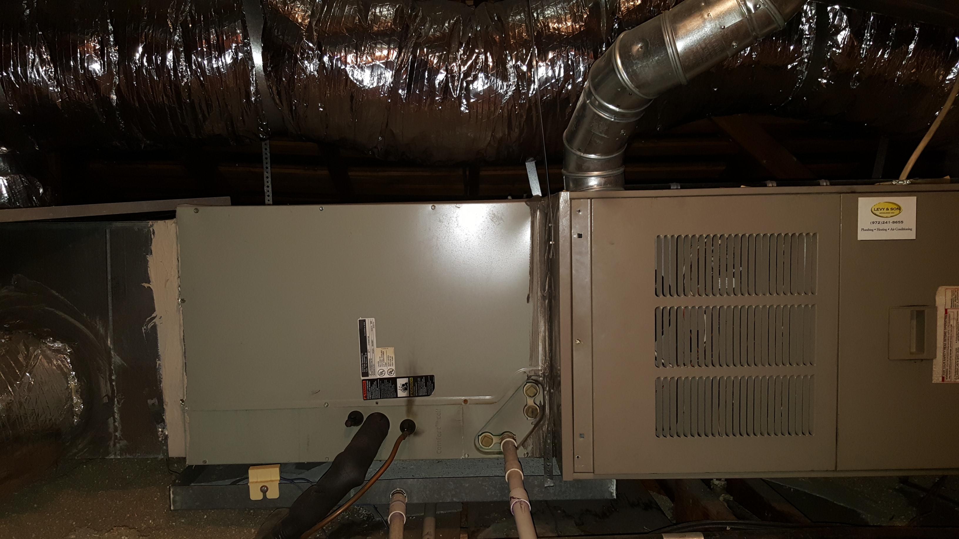 Trane furnace and e. coil