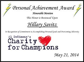 This image has an empty alt attribute; its file name is HillarySavitz_Cert.jpg