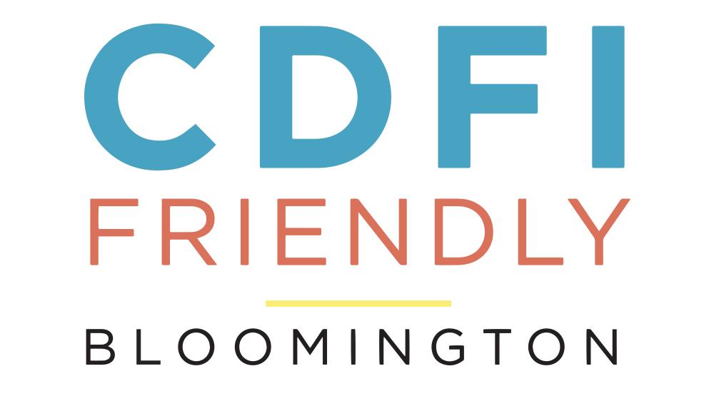 CDFI Friendly Bloomington Logo