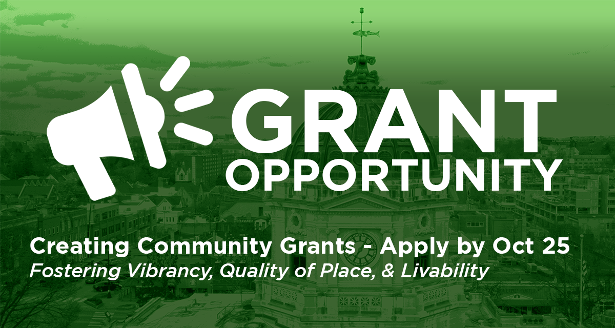 """Community Foundation opens """"Creating Community"""" grant funding opportunity"""