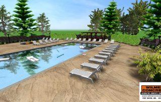 concrete pool deck fort wayne