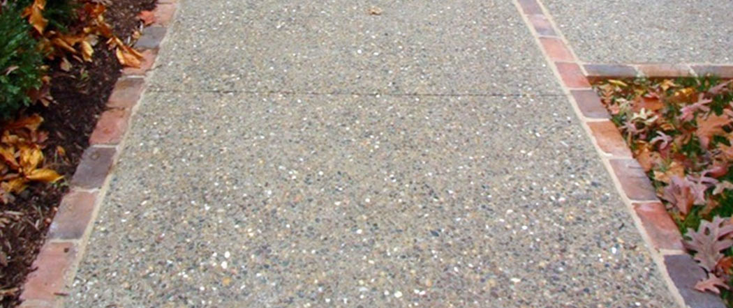 exposed aggregate concrete fort wayne