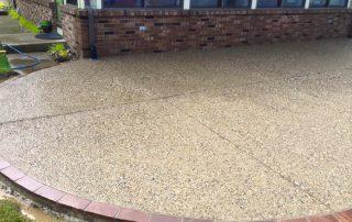 exposed aggregate patio fort wayne