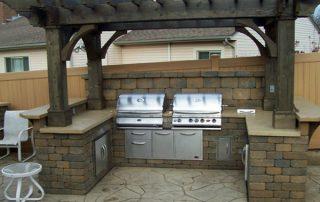 built-in grill fort wayne