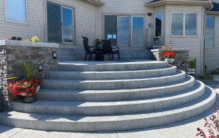 concrete steps fort wayne
