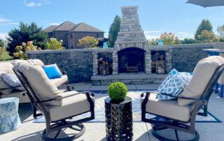 outdoor fireplace fort wayne