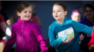 Core Supports Local Running Club for Young Girls