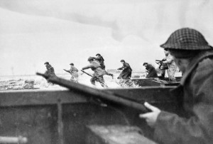 Juno Beach Canadian Soldiers