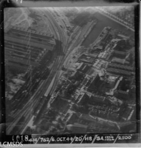 Aerial Photo from the Laurier Military History Archives. Box 0040 – 414/805 Image 6018