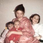 mama and her three