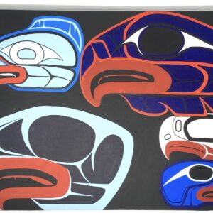 nuxalk painting Brandon Mack