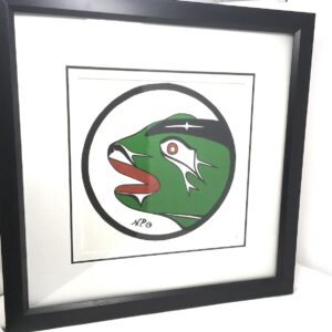 noel pootas frog painting