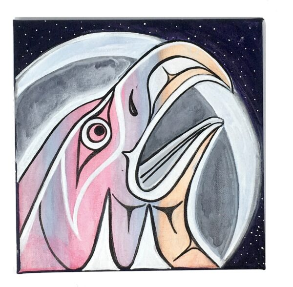 nuxalk painting Sheldon Talio