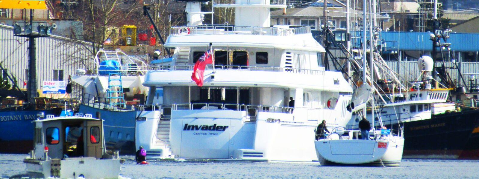 Seattle Easter Boat Parade, Hampton Yachts, SYC, Fleming Yachts, Selene, Nordhavn, Salty Dog Boating