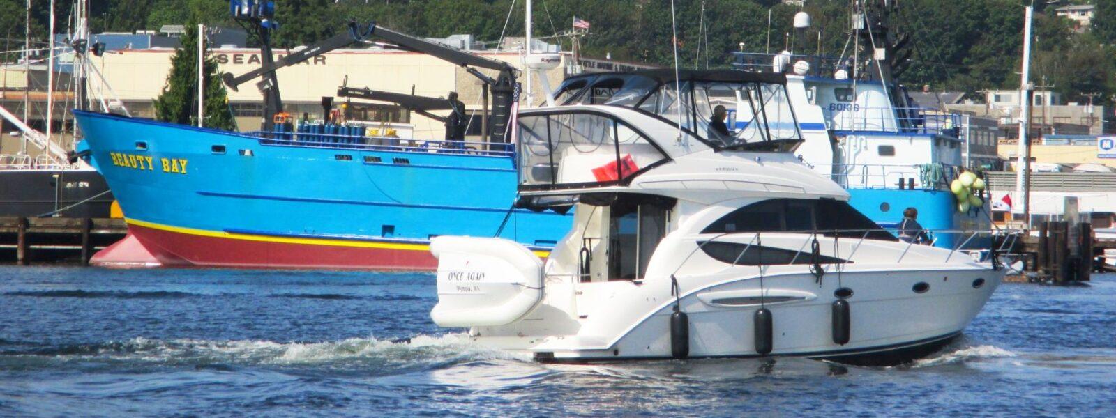 Seattle Easter Boat Parade, Ballard, Fremont, Mercer Island, Bellevue, Magnolia, Queen Anne Hill, Seattle WA, Salty Dog Boating