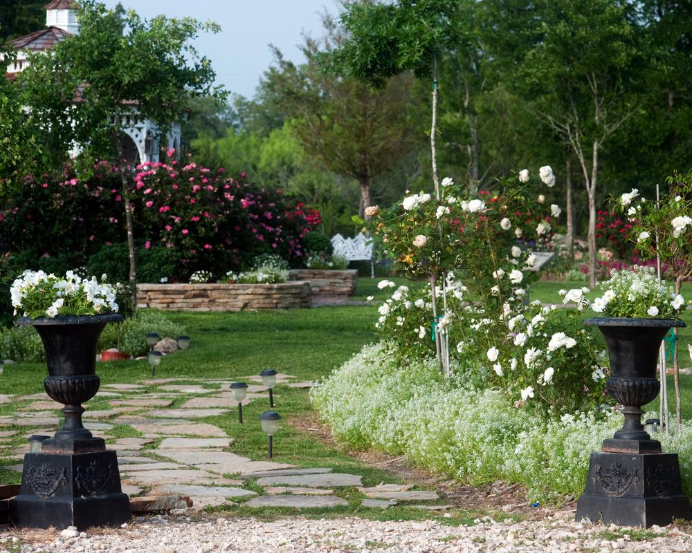 manicured garden wedding romantic destination