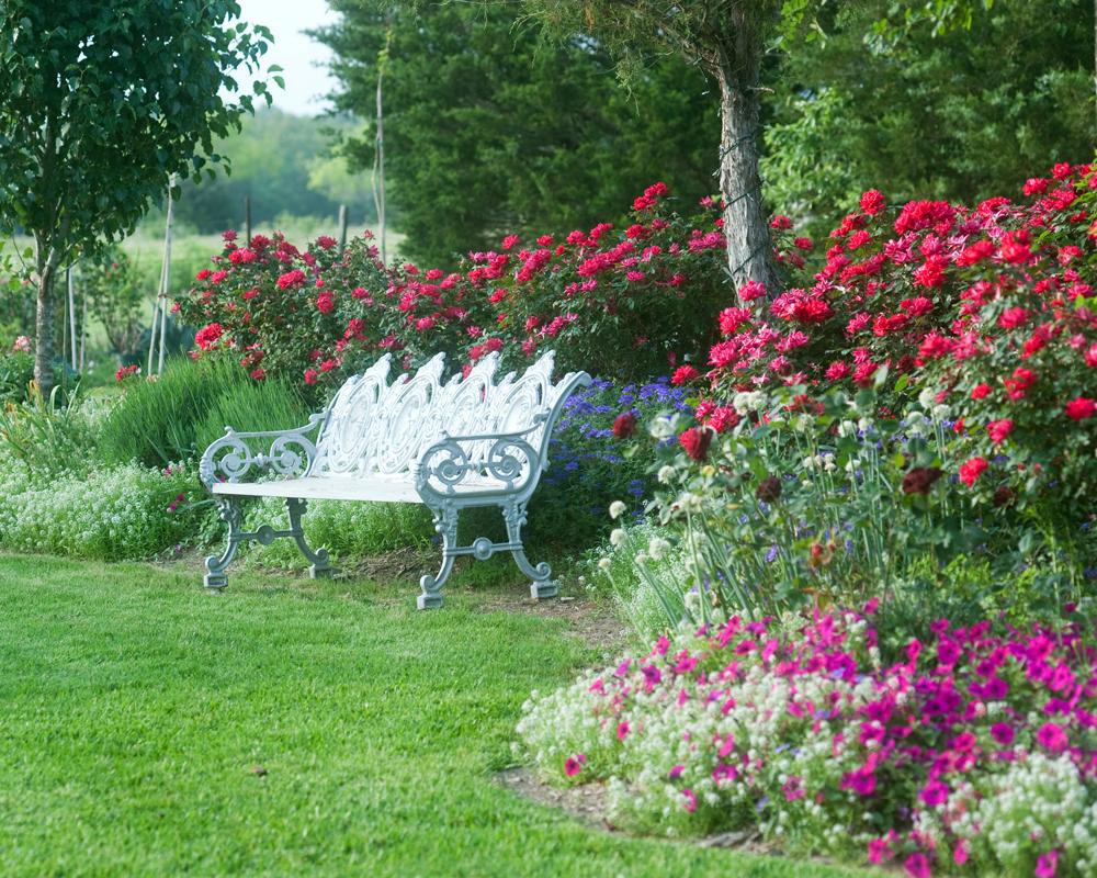 college station outdoor garden venue