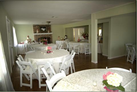 farmhouse reception texas wedding