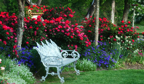 Outdoor Wedding Garden